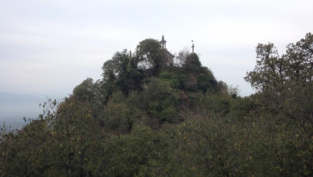 La Riserva naturale speciale Rocca di Cavour vetta