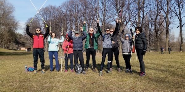 lezioni di nordic walking